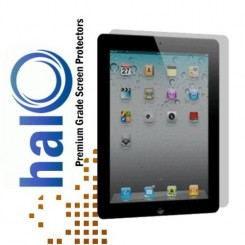 Halo Screen Protector Film Invisible (Clear) Apple iPad 2, 3, and New Ipad 4  (3-Pack) - Premium Japanese Screen Protectors