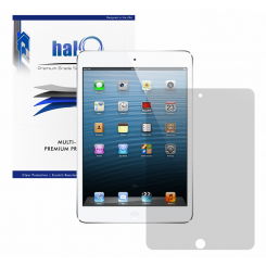Halo Screen Protector Film High Definition (HD) Clear (Invisible) for Apple Ipad Mini & Ipad Mini Retina (3 Pack)  - Premium Japanese Screen Protectors