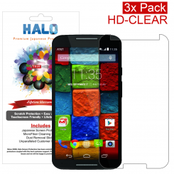 Halo Motorola Moto X (2014 edition) HD Clear Protector