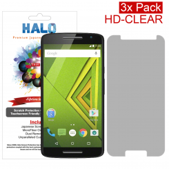 Halo Motorola Moto X Play HD Clear Protector