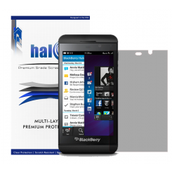 Halo Screen Protector Film Invisible Clear  (Invisible) for Blackberry Z10 (3-Pack) - Premium Japanese Screen Protectors
