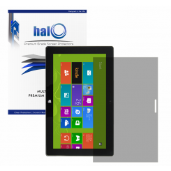Halo Screen Protector Film Invisible (Clear)  Microsoft Surface Tablet (3-Pack) - Premium Japanese Screen Protectors