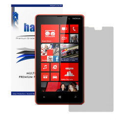 Halo Screen Protector Film Invisible (Clear) for  AT&T Nokia Lumia 820  (3-Pack) - Premium Japanese Screen Protectors