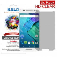 Halo Motorola Moto X PureEdition Style HD Clear Protector